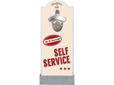 Contento Flaschenöffner Self Service Einheitsgröße bunt Baraccessoires Weinaccessoires Küchenhelfer Haushaltswaren