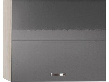 OPTIFIT Faltlifthängeschrank Cara, Breite 90 cm x 70,4 34,9 (B H T) grau Hängeschränke Küchenschränke Küchenmöbel Schränke