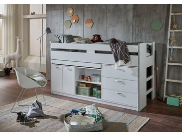 Relita Hochbett Liegefläche B/L: 90 cm x 200 cm, kein Härtegrad, Härtegrad weiß Kinder Kinderbetten Kindermöbel