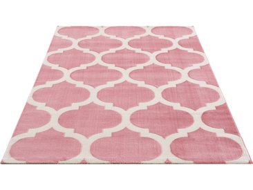 Teppich, Fenris, Home affaire, rechteckig, Höhe 12 mm, maschinell gewebt 3, 120x180 cm, mm rosa Schlafzimmerteppiche Teppiche nach Räumen
