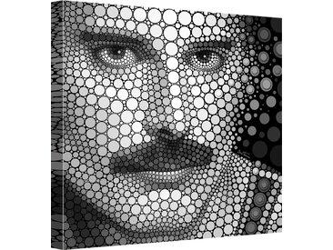 Leinwandbild Ben Heine - Circlism: 70x70 cm bunt Leinwandbilder Bilder Bilderrahmen Wohnaccessoires