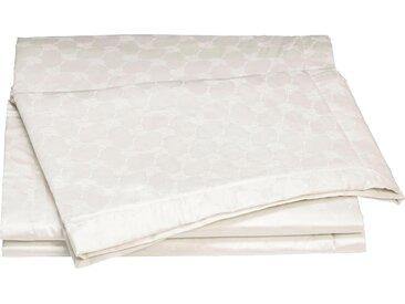 Plaid Cornflower Allover, Joop 150x210 cm, Baumwolle beige Baumwolldecken Decken Wohndecken