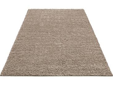 Home affaire Hochflor-Teppich Shaggy 30, rechteckig, 30 mm Höhe, gewebt, Wohnzimmer B/L: 280 cm x 390 cm, 1 St. braun Esszimmerteppiche Teppiche nach Räumen
