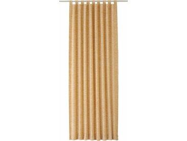 Vorhang, Warnow, Wirth, Schlaufen 1 Stück 3, H/B: 200/132 cm, blickdicht / energiesparend, beige Blickdichte Vorhänge Gardinen Gardine