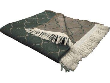 Wohndecke Indian Cortezada, Adam 145x190 cm, Baumwolle braun Kuscheldecken Decken Wohndecken