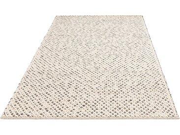 My HOME Teppich Zarina, rechteckig, 6 mm Höhe, Stickoptik, Wohnzimmer 7, 240x320 cm, beige Schlafzimmerteppiche Teppiche nach Räumen