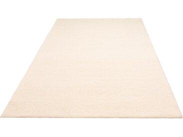 andas Wollteppich Malia, rechteckig, 24 mm Höhe, reine Wolle, echter Berber, handgeknüpft, Wohnzimmer B/L: 90 cm x 160 cm, 1 St. beige Esszimmerteppiche Teppiche nach Räumen