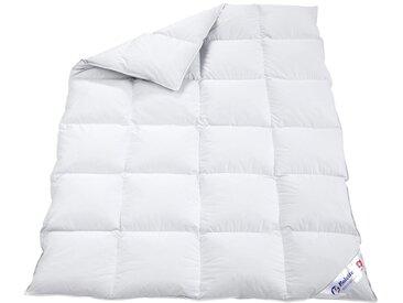 Balette Bettenprogramm, warm 3 155x220 cm, 1240 g, 60% Daunen - 40% Federn, mit 4 cm Innensteg weiß Daunendecke Bettdecken Bettdecken, Kopfkissen Unterbetten Decken