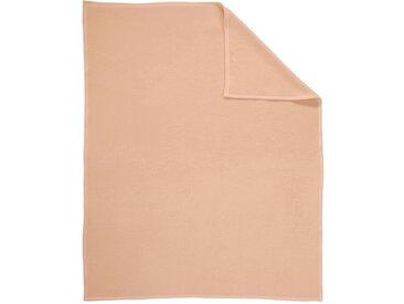 Wohndecke, Biederlack 1 (150x200 cm) braun Baumwolldecken Decken