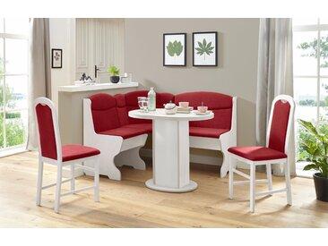 my home Eckbankgruppe Apollon 1, (Set, 4 tlg.) Einheitsgröße weiß Sitzbänke Nachhaltige Möbel