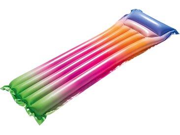 Bestway Luftmatratze Regenbogen, BxLxH: 54x170x15 cm Einheitsgröße rosa Wasserspielzeug Pools Planschbecken Garten Balkon