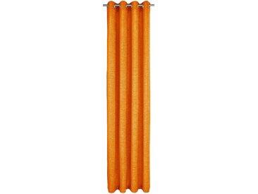 Vorhang, Trondheim 328 g/m², Wirth, Ösen 1 Stück 16, H/B: 255/270 cm, blickdicht / energiesparend, goldfarben Blickdichte Vorhänge Gardinen Gardine