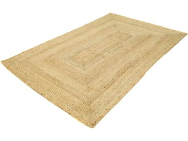 morgenland Teppich Sisalteppich Indigo, rechteckig, 7 mm Höhe B/L: 160 cm x 240 cm, 1 St. beige Juteteppiche Naturteppiche Teppiche