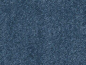 Vorwerk Teppichboden SUPERIOR 1064, rechteckig, 11 mm Höhe, Soft-Glanz-Saxony, 500 cm Breite B: cm, 1 St. blau Bodenbeläge Bauen Renovieren