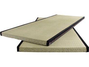Futonmatratze Tatami, Karup Design, 5,5 cm hoch 5 (0-160 kg), 1x 90x200 cm, ca. grün Matratzen Lattenroste Möbel Matratze