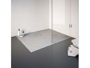 Schulte Duschwanne, rechteckig, BxT: 900 x 1400 mm Einheitsgröße grau Duschwannen Duschen Bad Sanitär