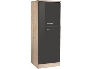 HELD MÖBEL Kühlumbauschrank Graz 60 x 165 (B H T) cm grau Küchenserien Küchenmöbel Schränke