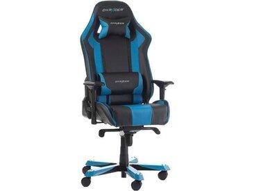 DXRacer Gaming Chair 0, Einheitsgröße blau Chefsessel Bürostühle Büromöbel Stühle