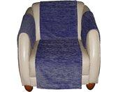 Wirth Sofaläufer Miriam, rechteckig, 5 mm Höhe B/L: 50 cm x 200 cm, 1 St. blau Sesselschoner Hussen Überwürfe