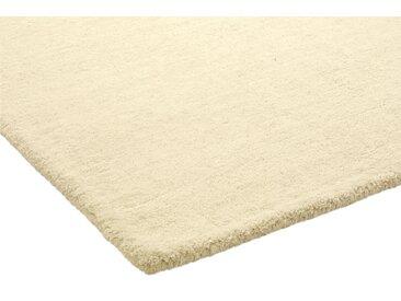 Hochflorteppich uni Farben 5, ca. 160/230 cm weiß Schlafzimmerteppiche Teppiche nach Räumen