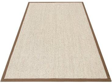 my home Sisalteppich Franco, rechteckig, 5 mm Höhe, echt Sisal, Wohnzimmer 6, 200x300 cm, beige Schlafzimmerteppiche Teppiche nach Räumen