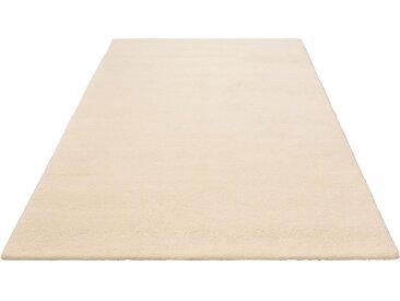 Leonique Wollteppich Punam, rechteckig, 28 mm Höhe, reine Wolle, echter Berber, handgeknüpft, Wohnzimmer B/L: 140 cm x 200 cm, 1 St. beige Esszimmerteppiche Teppiche nach Räumen