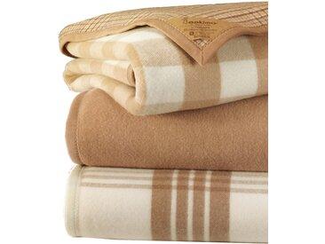 Naturhaardecke, Eskimo 150x200 cm braun Wolldecken Decken