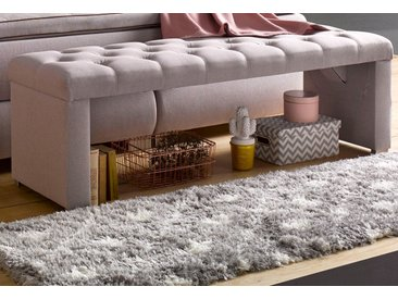 ATLANTIC home collection Bettbank Strukturstoff, 162cm beige Bettbänke Sitzbänke Stühle