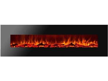 GLOW FIRE Elektrokamin Mars XL 0, Einheitsgröße schwarz Elektrokamine Heizen Klima Elektrokaminöfen