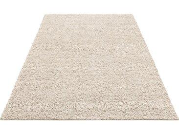 Home affaire Hochflor-Teppich Shaggy 30, rechteckig, 30 mm Höhe, gewebt, Wohnzimmer B/L: 280 cm x 390 cm, 1 St. beige Esszimmerteppiche Teppiche nach Räumen