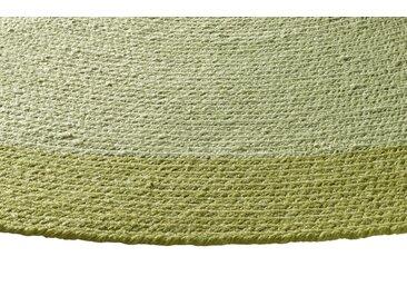 Teppich für In-und Outdoor 2, ca. 150 cm, rund grün Runde Teppiche Weitere