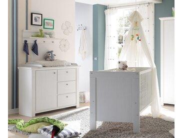 Babymöbel-Set Dandy, (Spar-Set, 2 St.), Bett + Wickelkommode B/H: 70 cm x 140 beige Baby Baby-Möbel-Sets Babymöbel