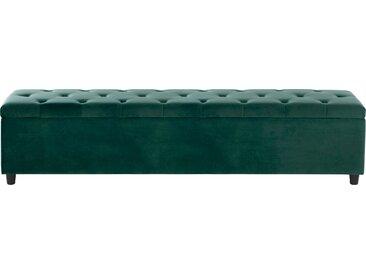 Guido Maria Kretschmer Home&Living Bettbank Relaxy Luxus-Microfaser, 180cm grün Bettbänke Sitzbänke Stühle