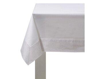 DDDDD Tischdecke Corallo, 140x250 cm B/L: 140 x 250 cm, rechteckig weiß Tischdecken Tischwäsche
