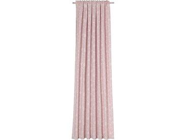 Vorhang nach Maß, BRETAGNE, Neutex for you, verdeckte Schlaufen 1 Stück B: 142 cm, blickdicht, rosa Blickdichte Vorhänge Gardinen Gardine Maß