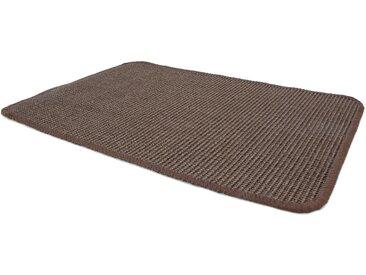 Primaflor-Ideen in Textil Sisalteppich SISALLUX, rechteckig, 6 mm Höhe, Obermaterial: 100% Sisal, Wohnzimmer 200x300 cm, braun Schlafzimmerteppiche Teppiche nach Räumen
