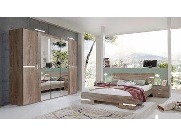 Wimex Schlafzimmer-Set Anna (Set, 4-tlg) Einheitsgröße braun Komplett Schlafzimmer Betten Schlafzimmerm��bel-Sets