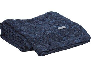 Wohndecke Wasco, Gant 130x180 cm, Mischgewebe blau Baumwolldecken Decken Wohndecken