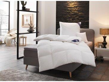 Gänsedaunenbettdecke, Premium******, SPESSARTTRAUM, Füllung: 100% Gänsedaunen, Bezug: Baumwolle weiß, 200x200 cm, Premium weiß Allergiker Bettdecke Bettdecken Bettdecken, Kopfkissen Unterbetten