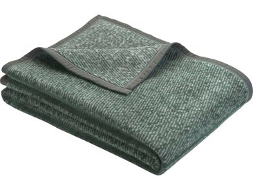 bugatti Wohndecke Amersfoort, mit dezentem Muster B/L: 150 cm x 200 grün Baumwolldecken Decken