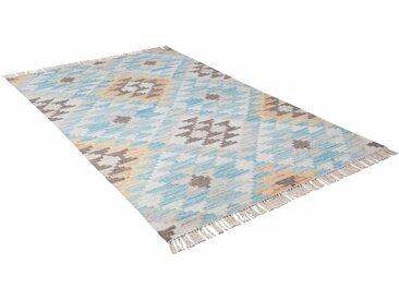 Orientteppich, Check Kelim, TOM TAILOR, rechteckig, Höhe 5 mm, handgewebt
