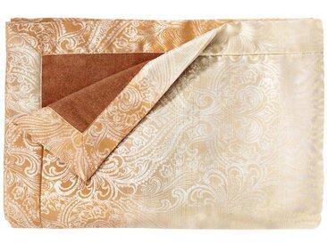 Wohndecke Soraya, Curt Bauer 130x190 cm, Baumwolle gelb Baumwolldecken Decken Wohndecken