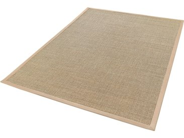 Dekowe Sisalteppich Mara S2 mit Bordüre, rechteckig, 5 mm Höhe, Flachgewebe, Obermaterial: 100% Sisal, Wohnzimmer B/L: 200 cm x 290 cm, 1 St. beige Teppiche