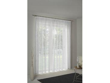 Wirth Vorhang Theresa, Store 145 cm, Faltenband, 450 cm weiß Wohnzimmergardinen Gardinen nach Räumen Vorhänge