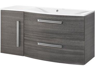 FACKELMANN Waschtisch Lugano, Breite 115 cm Einheitsgröße braun Waschtische Badmöbel