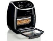 Ariete Heissluftfritteuse 4619 Airy Fryer Ofen, 2000 W, Fassungsvermögen 1 kg Einheitsgröße schwarz Fritteusen Haushaltsgeräte