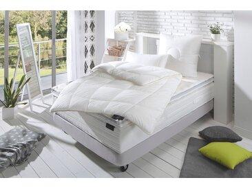 Naturhaarbettdecke, frankenstolz Natura, Frankenstolz weiß, 155x220 cm weiß Steppbettdecke Bettdecken Bettdecken, Kopfkissen Unterbetten Bettdecke