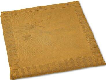 Sterntaler Krabbeldecke Sterne, gelb B/L: 100 cm x Baumwolldecken Decken