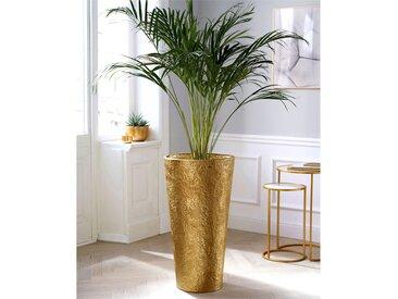 Schneider Bodenvase H: 74 cm goldfarben Blumenvasen Pflanzgefäße Kleinmöbel Vasen