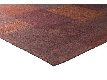 Teppich Patchwork Design 5, ca. 160/230 cm rot Schlafzimmerteppiche Teppiche nach Räumen
